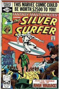 Fantasy Masterpieces #10 Silver Surfer NM-