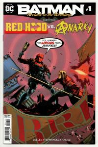 Batman Prelude to the Wedding Red Hood vs Anarky #1 (DC, 2018) NM
