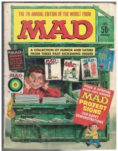 WORST FROM MAD (1958-1969) 7 GD