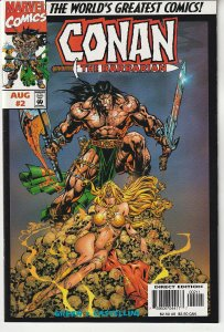 Conan The Barbarian(Marvel, mini-series, 1997) # 2