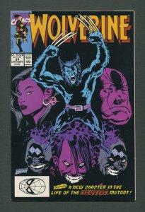 Wolverine #31 /  9.4 NM  / 1st Hama,Silvestri  (1988 1st Series)