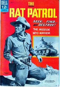 The Rat Patrol # 1    Hit TV Series focusing on WWII African Campaign