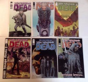 Walking Dead 21 91 104 FCBD Michonne Special 2nd Print #1 Image First Near Mint