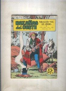 Hazañas del Oeste numero 185: Tres destinos (Lopez Espi)