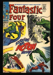 Fantastic Four #71 FN 6.0