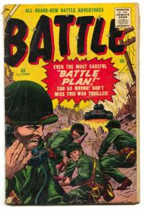 Battle Comics #60 1958- Atlas War comic G