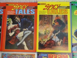 8 Eternity Comic Books Spicy Tales Prom Formula Scimidar NM-MT