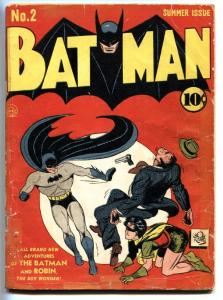 BATMAN #2-1940-Second JOKER appearance-BOB KANE-DC