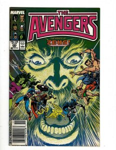 12 The Avengers Comics #285 286 287 288 291 292 293 294 295 296 297 298 GB2