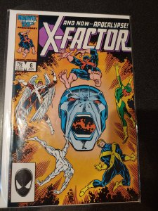 MARVEL: X-FACTOR #6, 1ST APOCALYPSE FULL APPEARANCE, KEY BOOK VF/NM