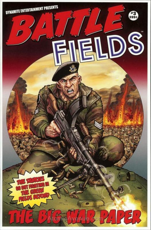 Battlefields (Vol. 2) #3 VF/NM; Dynamite | save on shipping - details inside