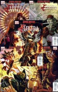 ELEKTRA DARK REIGN (2009)1-5 Complete Dark Reign tie-in COMICS BOOK