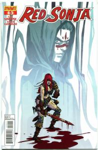 RED SONJA #5, NM-, She-Devil, Sword, Becky Cloonan, 2013, more RS in store