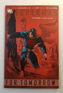 SUPERMAN FOR TOMORROW SOFT COVER TPB JIM LEE ART GRAPHIC NOVEL