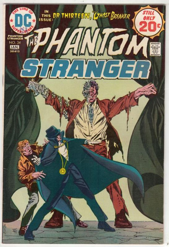 Phantom Stranger, The #34 (Jan-75) VF+ High-Grade The Phantom Stranger