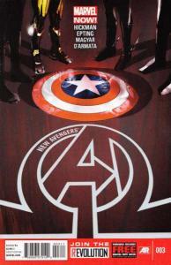 New Avengers (2013 series) #3, NM (Stock photo)