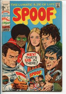SPOOF #1 1970-1ST ISSUE-MAD COMICS IMITATOR-INFINITY COVER-DARK SHADOWS-fn minus