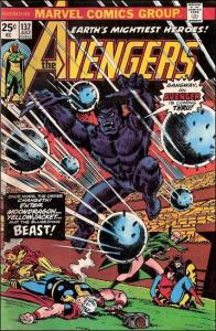 Marvel THE AVENGERS (1963 Series) #137 VF/NM