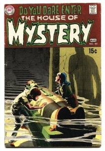 House Of Mystery #181 1969- Wrightson- Egyptology cover- DC horror VG+