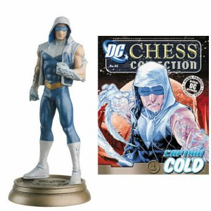 DC Superhero Chess Figure #42 Captain Cold Black Pawn - New!