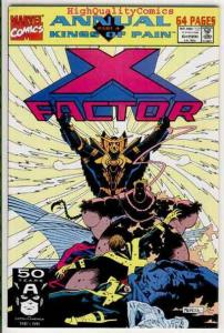 X-FACTOR Annual #6, NM+, New Warriors, Mike Mignola, more XF in store