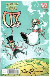DOROTHY and the WIZARD in OZ #1 2 3 4 5 6 7 8, NM, Signed Shanower, 2011, 1-8
