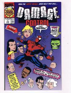 Damage Control #1 VG/FN Marvel Comics Comic Book June 1991 DE40 AD14