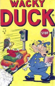 Wacky Duck (2nd Series) #2 GD; Marvel   low grade comic - save on shipping - det