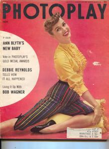 Photoplay-Debbie Reynolds-Jane Powell-Judy Garland-Nov-1954