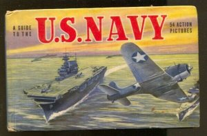 Guide To The U.S. Navy #742 1950-art on every page-WWII-historic-FN