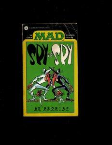 2 Pocket Books The 4th Mad Spy v Spy, Maidens in the Midden JL6