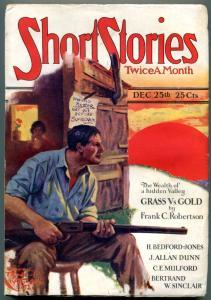 Short Stories Pulp December 25 1926- Frank Robertson- J Allan Dunn VG
