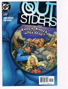 Outsiders # 14 DC Comic Books Awesome Issue Modern Age NIghtwing Metamorpho! S24