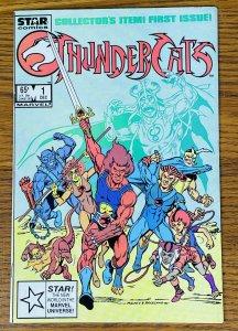 THUNDERCATS #1 COMIC BOOK 1985 Marvel Star 1ST PRINT APPEARANCE LION-O Direct VF