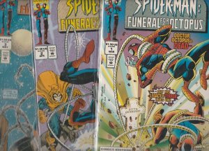Spider-Man Funeral for An Octopus Set 1-3 #1to3 (Mar-95) NM Super-High-Grade ...