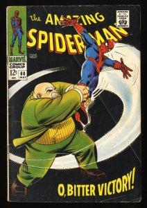 Amazing Spider-Man #60 GD/VG 3.0 Kingpin! Marvel Comics Spiderman