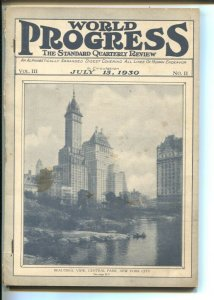 World Progress 7/15/1930-Covers All Lines Of Human Endeavor-aviation-Central ...