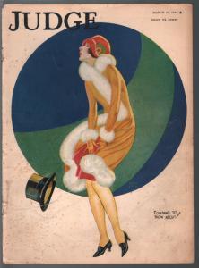 Judge 3/16/1926-Good Girl Art cover-MacHamer-RB Fuller-Farr-L Fellows-FR/G