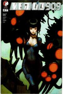 Megacity 909 #2 Devil's Due Ropie Cover B Variant NM