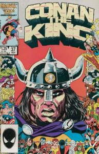 Conan the King #37 VF; Marvel   save on shipping - details inside