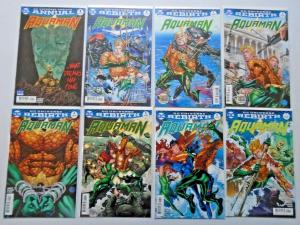 Aquaman near set #1-33 (6th Series) avg 8.0 VF (2016)