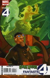 Dark Reign: Fantastic Four #2 FN; Marvel   save on shipping - details inside