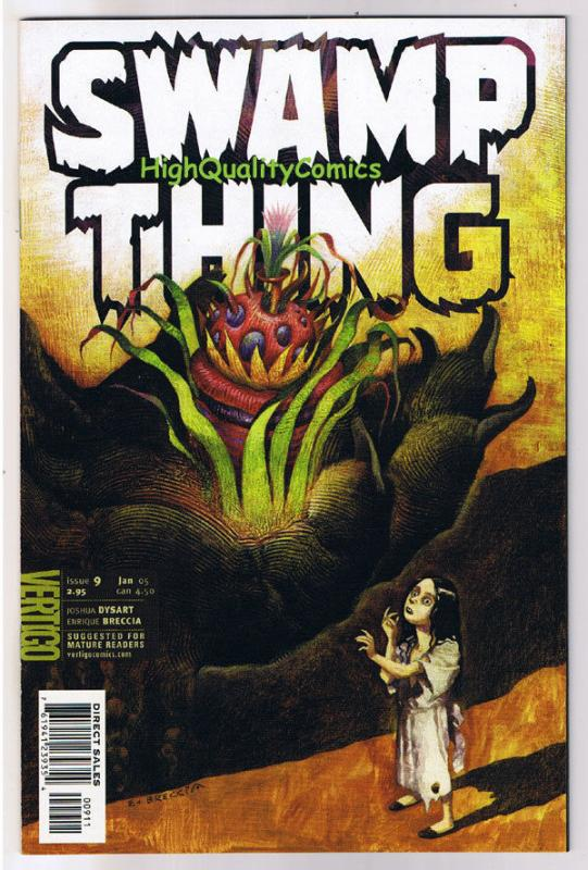 SWAMP THING #9, NM+, Vertigo, Love in Vain, 2004, Vertigo, more in store