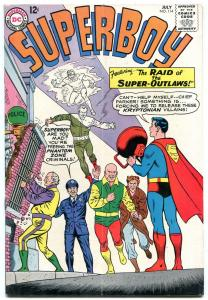 SUPERBOY #114 1964-DC COMICS-SUPER OUTLAWS RAIDING VG