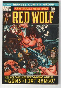 RED WOLF #1 VG/F 5.0;1st Solo titled series!!!
