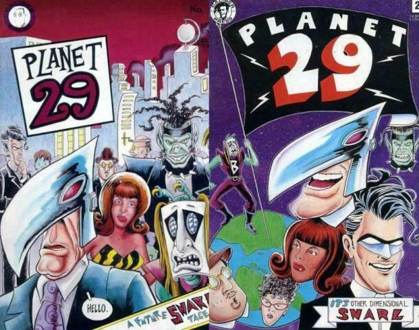 PLANET 29 (1991 CL) 1-2  Kevin Atkinson Complete