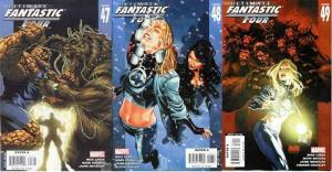 ULTIMATE FANTASTIC FOUR (2004-2009) 47-49  Ghosts