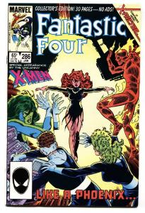 Fantastic Four #286 comic book 1985 Jean Grey returns-X-Factor begins-marvel