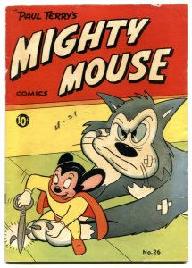 Mighty Mouse #26 1951- Golden Age comic FN-