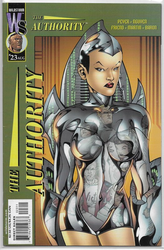 Authority   vol. 1   #23 FN (Transfer of Power 1)